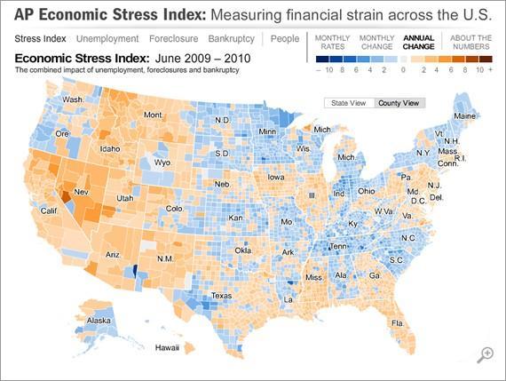 Location Intelligence US Stress Levels
