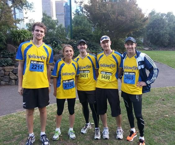 Yellowfin runs for the kids yellowfin business intelligence - Citylink head office telephone number ...