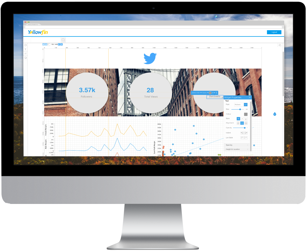 Yellowfin releases new Twitter dashboard that can analyze competitor data