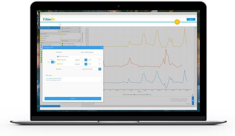 Yellowfin lanza el primer módulo de preparación de datos integrado y virtualizado del sector de los análisis