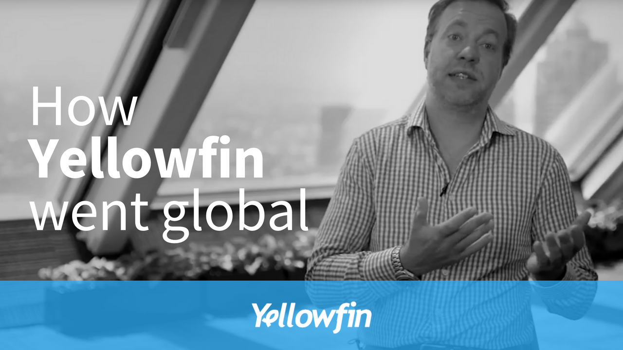 From our CEO: How Yellowfin went global
