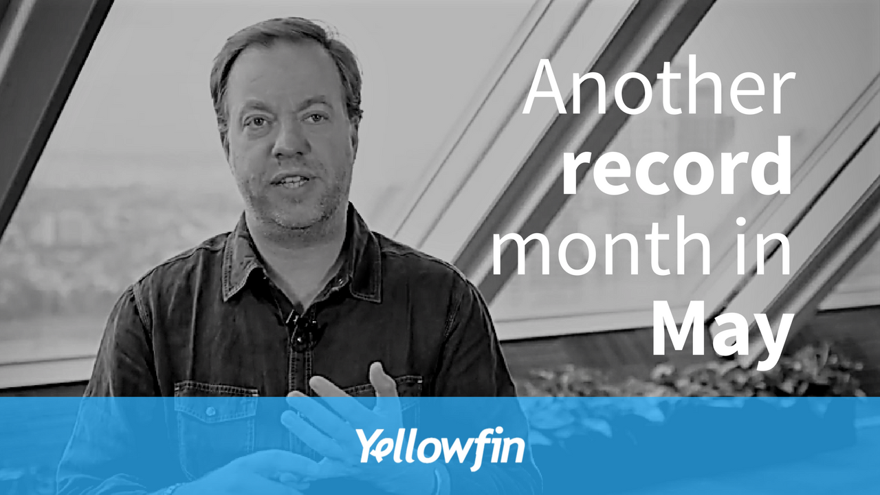 Another record month in May
