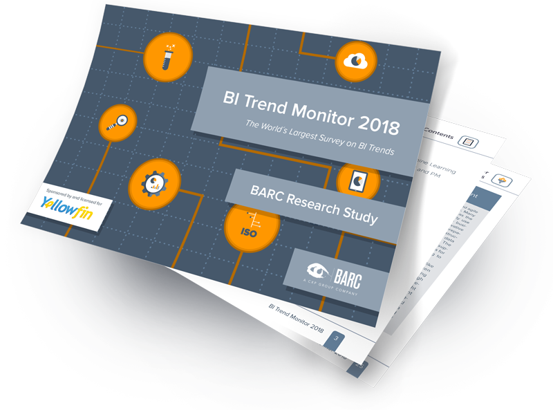 Yellowfin BARC: BI Trends Monitor 2018