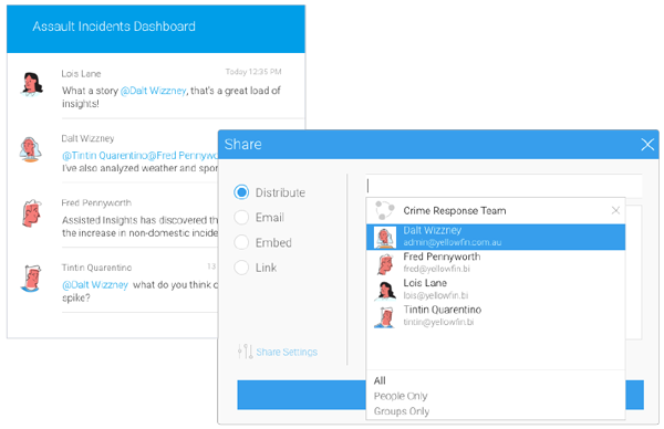 Share Insights Faster - Dashboards