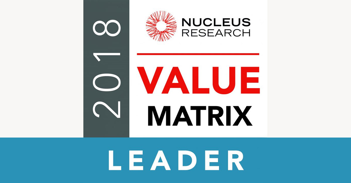 Yellowfin Placed Top in Nucleus Research Analytics Value Matrix 2018