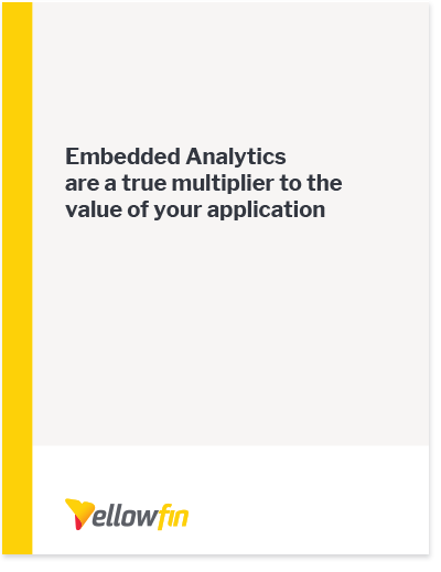Embedded Analytics Cover