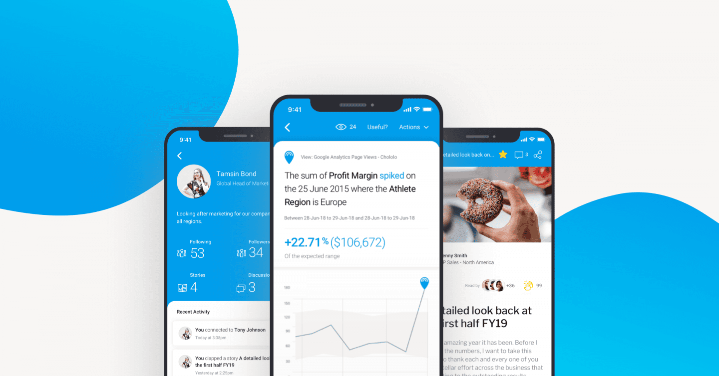Yellowfin Launches New Mobile App to Change the Way Organizations Engage and Act on Data  Beyond Traditional Dashboards