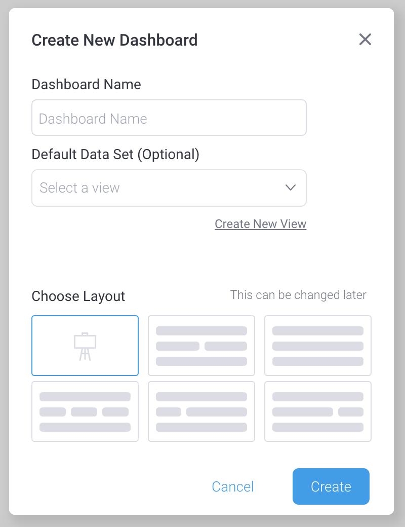 Yellowfin new dashboard