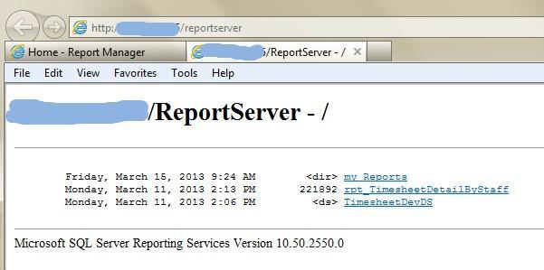 How do I get error message :SSRSException: Failed to retrieve meta