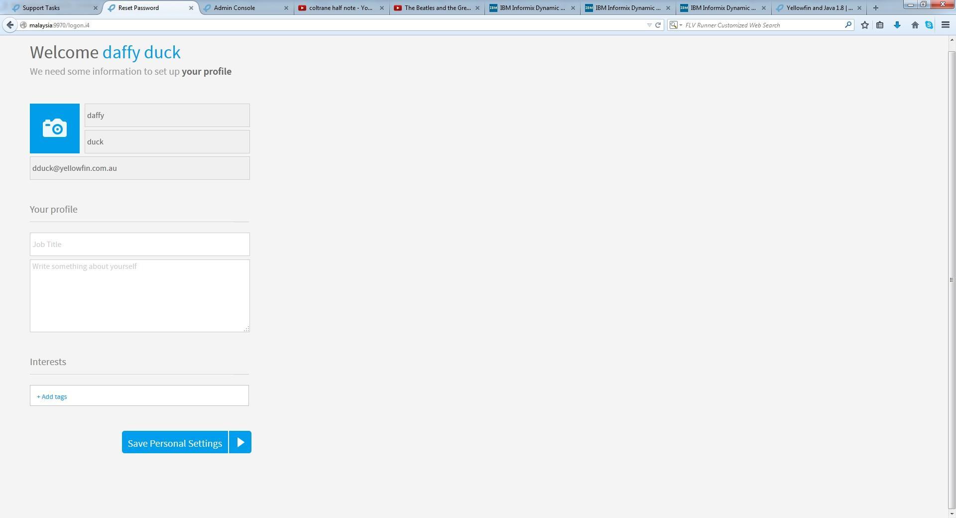 How to configure LDAP welcome screen option? | Yellowfin BI