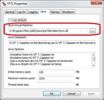 Move from Java 32 bit to 64 bit | Yellowfin BI